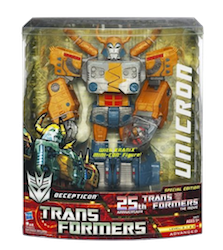 Transformers Generations Unicron 25th Anniversary