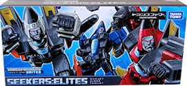 Takara - United UN-exclusive Seekers: Elites w/ Dirge, Ramjet and Thrust (China Market)