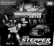 Transformers United (Takara) Stepper w/ Nebulon