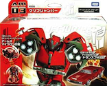 Transformers Prime (Arms Micron - Takara) AM-03 Cliffjumper with C.L.