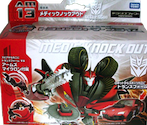 Transformers Prime (Arms Micron - Takara) AM-13 Knock Out with Gra