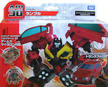 Transformers Prime (Arms Micron - Takara) AM-30 Frenzy with Dago