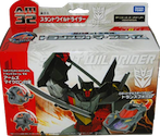 Transformers Prime (Arms Micron - Takara) AM-32 Wildrider with Ozu