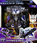 Transformers Prime (Arms Micron - Takara) AM-33 Megatron with Babu, Baru, Dai