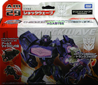 Takara - TF Prime (Arms Micron) AM-29 Shockwave with Bido