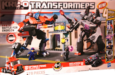 Transformers Kre-O Battle for Energon (Kre-O Optimus Prime vs Megatron)