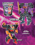 Transformers Timelines (BotCon) Shattered Glass Optimus Prime (deluxe)