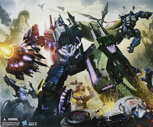 Transformers Generations Bruticus (SDCC Exclusive, Fall of Cybertron)