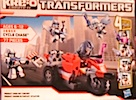 Kre-O Cycle Chase (Kre-O basic - Barricade, Autobot Trooper x3))