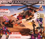 Transformers Kre-O Rotor Rage (Kre-O - Vortex, Vehicon x3)
