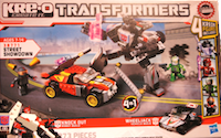 Kre-O Street Showdown (Kre-O Knock Out vs. Wheeljack)