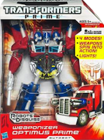TF Prime Optimus Prime (Weaponizer)