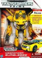 Transformers Prime Bumblebee (Weaponizer)
