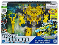 Transformers Cyberverse Bumblebee Battle Suit