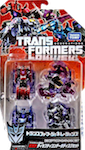 Transformers Generations (Takara) TG-16 Decepticon Datadisc Set (Frenzy, Ratbat, Ravage, Rumble)