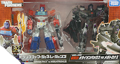 Transformers Generations (Takara) TG-25 Orion Pax vs Megatronus