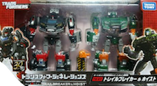 Transformers Generations (Takara) TG-27 Trailbreaker and Hoist
