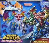 Transformers Prime Predacons Rising: Legion Giftset, Abominus