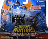 Transformers Prime Predacons Rising: Legion 2-pack, Bumblebee, Blight