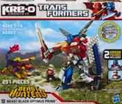 Transformers Kre-O Beast Blade Optimus Prime (Kre-O)
