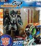 Transformers Go! (Takara) G25 Black Leo Prime