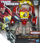 Transformers Generations Autobot Blaster with Steeljaw (Fall of Cybertron)