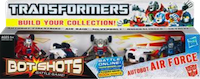 Bot Shots Autobot Air Force: Silverbolt, Quicksilver, Firestrike, Skydive, Air Raid