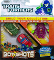 Transformers Bot Shots Cliffjumper, Brawl, Dirt Boss (Bot Shots 3-pack)