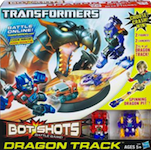 Transformers Bot Shots Dragon Track Set: Optimus Prime, Megatron