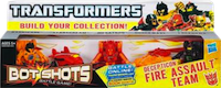 Bot Shots Decepticon Fire Assault Team: Megatron, Shockwave, Starscream, Barricade, Lockdown