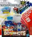 Transformers Bot Shots Spin Shot Optimus Prime -launcher