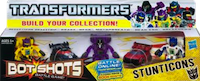Transformers Bot Shots Stunticons: Motorbreath, Dead End, Dragstrip, Brake-Neck, Breakdown