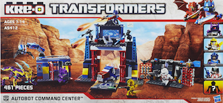 Transformers Kre-O Kre-O Autobot Command Center (with Bumblebee, Autobot Ratchet, Arcee and Shockwave)