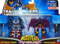 TF Prime Predacons Rising: Commander 2-pack, Optimus Prime, Predaking
