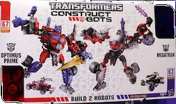 Construct-Bots Optimus Prime v Megatron