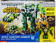 Transformers Prime Apex Hunter Armor with Breakdown (Beast Hunters)