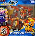 Transformers Go! (Takara) G10 Hishoumaru