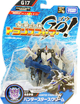 Transformers Go! (Takara) G17 Hunter Starscream