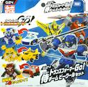 Transformers Go! (Takara) G24 Botshots Samurai Sword Team (Kenzan, Jinbu, Ganoh)