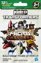 Transformers Kre-O Sharkticon (Gnaw), (Kre-O Microchanger Mystery Pack)
