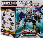 Transformers Kre-O Bruticus (Vortex, Swindle, Onslaught, Decepticon Brawl) (Kre-O Microchanger Combiners)