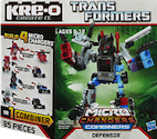 Transformers Kre-O Defensor (Blades, Protectobot First Aid, Protectobot Hot Spot and Protectobot Streetsmart), (Kre-O Microchanger Combiners)