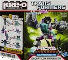 Transformers Kre-O Piranacon (Decepticon Nautilator, Overbite, Decepticon Snaptrap and Tentakil), (Kre-O Microchanger Combiners)
