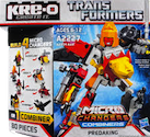 Transformers Kre-O Predaking (Razorclaw, Divebomb, Torox and Headlock), (Kre-O Microchanger Combiners)