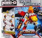 Kre-O Predaking (Razorclaw, Divebomb, Torox and Headlock), (Kre-O Microchanger Combiners)