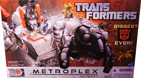 Generations Metroplex (Fall of Cybertron, with Scamper)