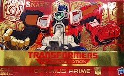 Transformers Platinum Edition Optimus Prime (Year of the Snake)