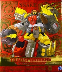 Transformers Platinum Edition Omega Supreme (Year of the Snake)