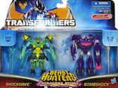 Transformers Prime Predacons Rising: Commander 2-pack, Shockwave, Bombshock