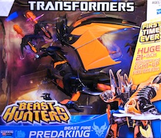 Transformers Prime Beast Fire Predaking (Beast Hunters)